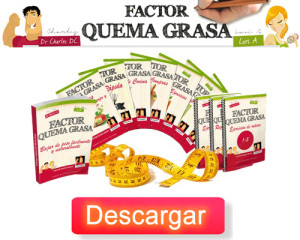 descarga factor quema grasa